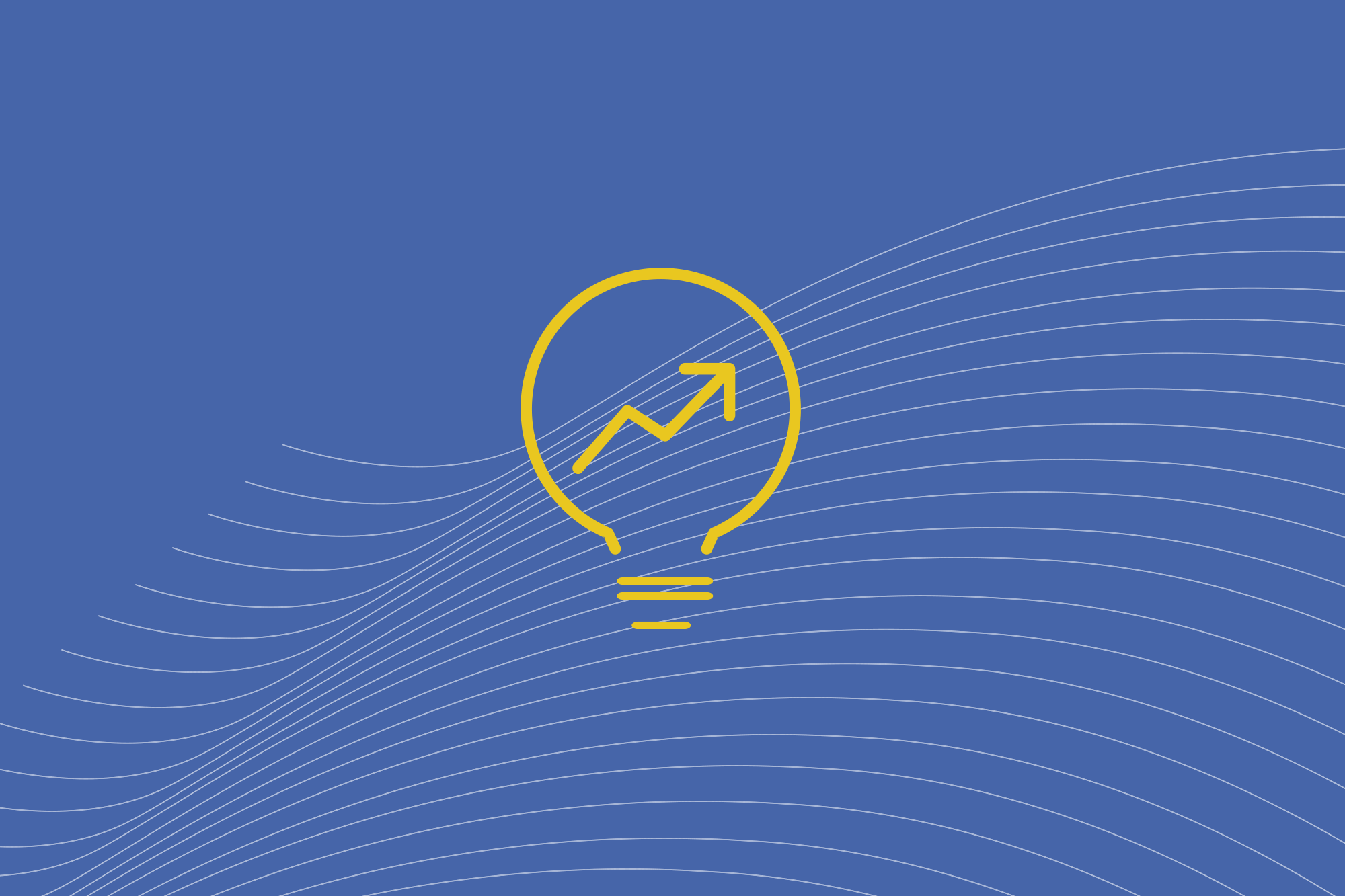 Insights icon with lightbulb