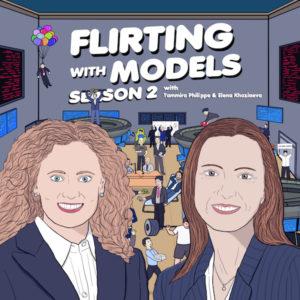 Podcast cover art with Tammira Philippe and Elena Khoziaeva