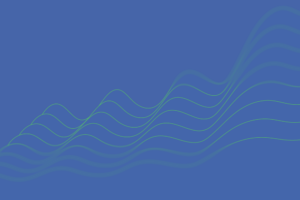 Graphic of parallel flowing lines